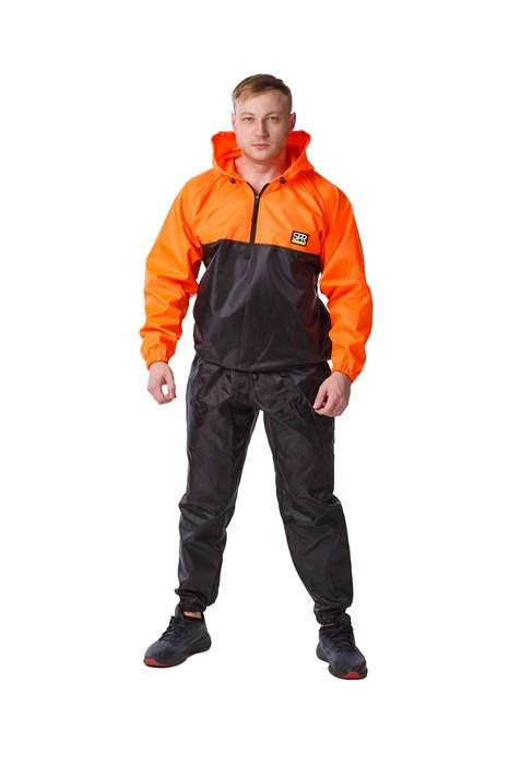 Костюм-сауна SPR Premium (Черный-Оранжевый) - фото 4502