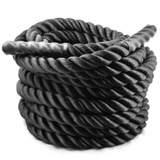 Канат для Кроссфит SPR Rope (Чёрный хлопок) - фото 4979